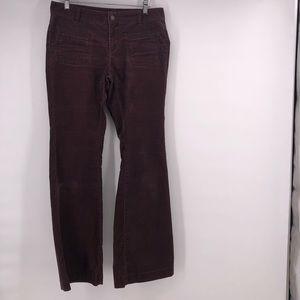 Ann Taylor Loft Pants corduroy modern flare size 4
